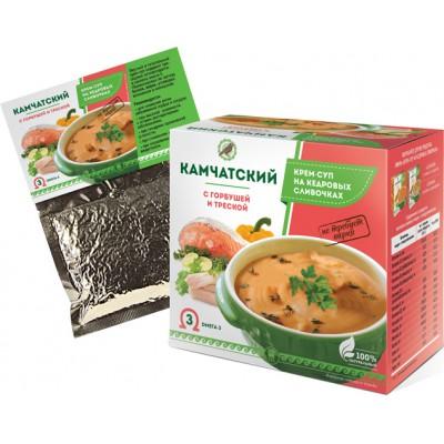 Крем-суп «Камчатский» с горбушей и треской